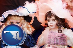 maryland collectible vintage dolls