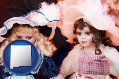 new-mexico collectible vintage dolls