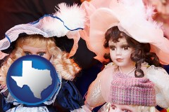texas collectible vintage dolls