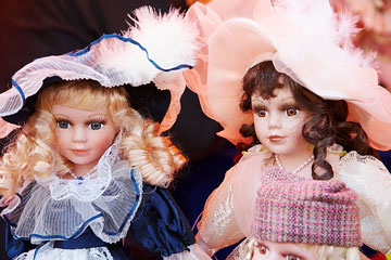 collectible vintage dolls